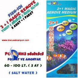 2+1 Magic Remove Medium (Amonyak ve Fosfat Düşürücü Elyaf)