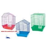 Boyalı Muhabbet Kuşu Kafesi