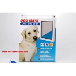 216W Beyaz Köpek Kapısı 2 Yollu (Large)