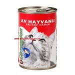 Av Hayvanlı Konserve Kedi Maması (410 gr) - (5+1 Kampanya)