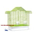 Çatılı Büyük Muhabbet Kuşu Kafesi